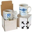 Mug boxes made up for packaging
